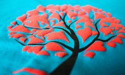 Трафаретная печать на ткани